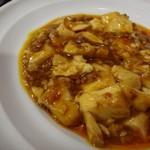 中華料理 八仙閣 - ◆麻婆豆腐・・激辛ではないですけれど、程よい辛味で美味しい。