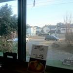 お食事処 きん太 - 窓から見た風景