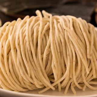小麦香る石挽全粒粉麺