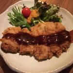 食堂 木洞商店 - 京都ポークのとんかつ