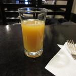 61400444 - オレンジジュース付き