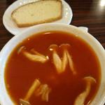 詩知里屋 - ランチサービス  スープ&フォカッチャ