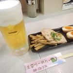 北京ラーメン - 料理写真:おとくビールセット(3種盛り)