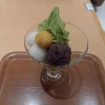 田頭茶舗 - 抹茶パフェ 2016.12