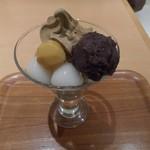 田頭茶舗 - ほうじ茶パフェ 2016.12