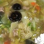 永楽苑 - ☆★恒例☆麺ミセ♫★☆しいたけ肉そば☆★★☆