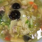 永楽苑 - しいたけ肉そば☆★ ☆★恒例☆麺ミセ♫★☆