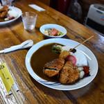 手づくりカレーやさん 倉 - 料理写真:トンヒレカツカレーセット