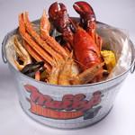 手づかみシーフード Makky's The Boiling Shrimp - カリフォルニアスペシャルコンボ
