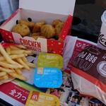 マクドナルド - 料理写真:(2016/12月)チキンマックナゲットとバベポセット