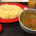 シンガポール コピティアム - 南インドスタイル牡蠣カレー