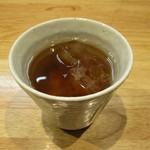 麺家獅子丸 - お茶も美味しいですョ!