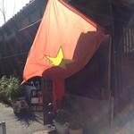 小石川インドシナ - 私道の奥にベトナム国旗(営業中)
