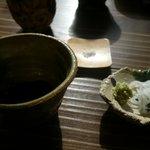 土山人 - 蕎麦は「蕎麦汁」と「塩」で食べます