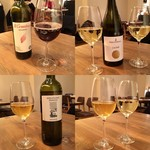 イタリアン アンド ワイン チャコール - いただいたワインたち♪