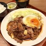 ぶたたま食堂 - トンテキ定食