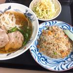 びんご飯店 - 料理写真:ハンチャンラーメン(780円込み)