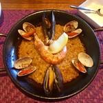 カンビオ - 料理写真:魚介のパエリア (♡ >ω< ♡)