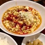 たけくま - 麻婆豆腐定食の麻婆豆腐