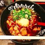 元祖肉肉うどん - 『肉肉そば』様(600円)あまりの寒さにこの生姜と牛美で温まりたくなるでしょ??♡
