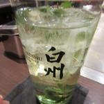 戸田亘のお好み焼 さんて寛 - 「白州森香るハイボール」