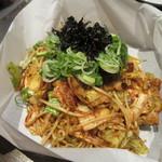 戸田亘のお好み焼 さんて寛 - 「豚キムチ焼きそば」