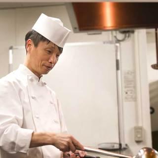 中華料理の最高峰の称号を持つ王シェフ