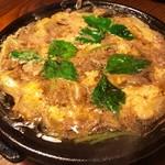 土佐食人 こうじ家 - 鴨肉と京ネギの卵とじ