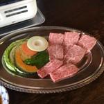61423931 - カルビ焼肉定食1500円