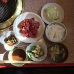 焼肉道場 福ちゃん - 料理写真:サービスランチ  900円