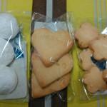 茶るら - スノーボール、メイプルクッキー、和三盆クッキー