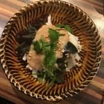 酒坊主 - 2017.01.18 長芋とピータンの腐乳ダレ