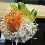 めし処円 - ミニサラダ