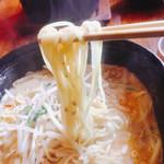 61430004 - 麺はこんな感じ〜(^^)