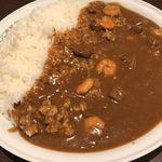 CoCo壱番屋 - 料理写真:ビーフカレー600g 2辛 エビにこみ ¥1217