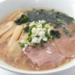 正油ラーメン+高菜とご飯