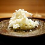 豪龍久保 - 白魚(宍道湖)天ぷら