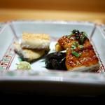 豪龍久保 - 天然鰻の白焼き、蒲焼、ヒレ焼き