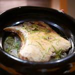 豪龍久保 - お食事 ブリカマ大根の炊き込みご飯