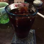 珈夢 - 炭焼きアイスコーヒー¥800
