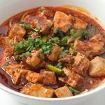 麻婆豆腐麺+高菜とご飯