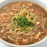 酸辣湯麺+高菜とご飯