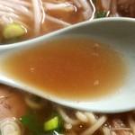 ラーメン 大栄 - 豚骨醤油スープ