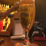 トロス スペイン グリルバル - 生ビール 2017.1