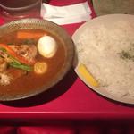 札幌スープカリー アナンダ - チキンカリー