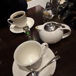 文明堂カフェ - セットの飲み物