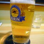 正直 - 生ビール小