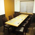 鉄板焼・旬彩 ほづみ - 個室(6から8名様)