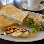 ビーラインカフェ - モーニング Cセット