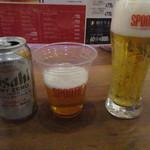PIZZERIA SPONTINI - ビールとノンアルコールビール